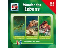 Was Ist Was 3 CD Hoerspielbox Vol 10 Leben