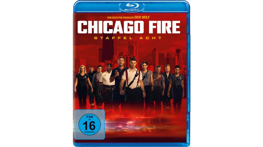 Chicago Fire - Staffel 8  [5 BRs]
