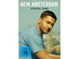 New Amsterdam Staffel 2 5 DVDs