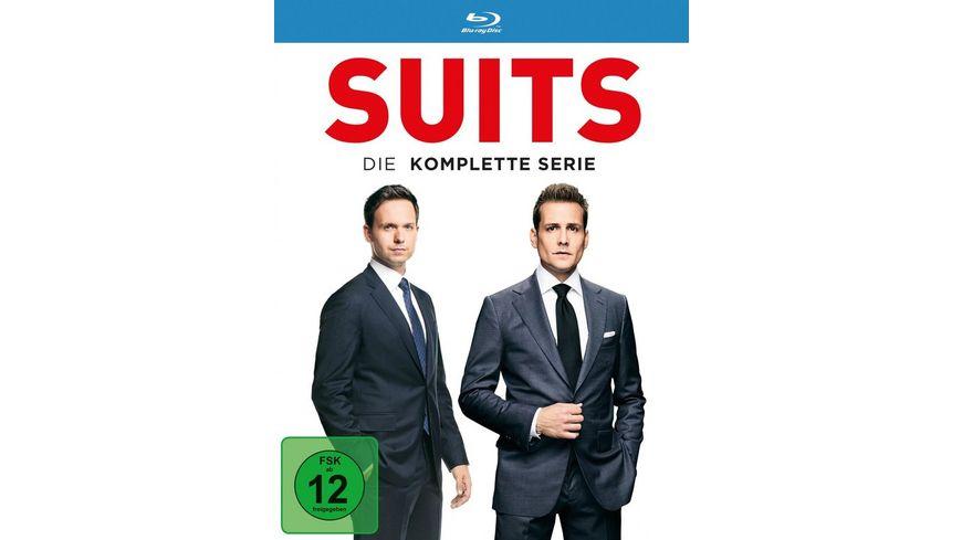 Suits - Die komplette Serie  [34 BRs]
