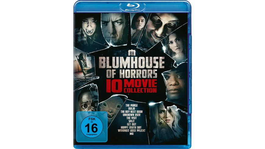 Blumhouse of Horrors - 10-Movie Collection  [10 BRs]
