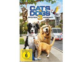 Cats Dogs 3 Pfoten vereint DVD