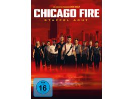 Chicago Fire Staffel 8 6 DVDs