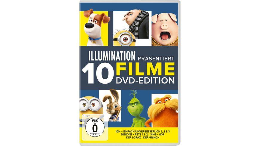 Illumination 10 Filme DVD-Edition  [10 DVDs]