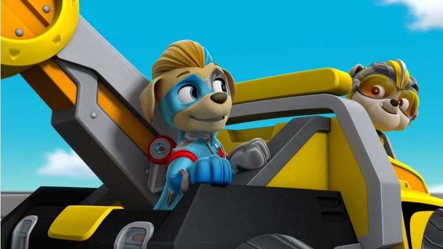 Paw Patrol Mighty Pups Super Paws