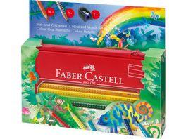 FABER CASTELL Colour Grip Mal Zeichenset Dschungel