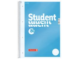 BRUNNEN Collegeblock Student A4 dotted 80 Blatt
