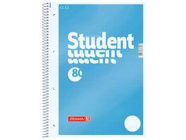 BRUNNEN Collegeblock Student A4 dotted