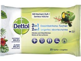 Dettol 2in1 Desinfektionstuecher