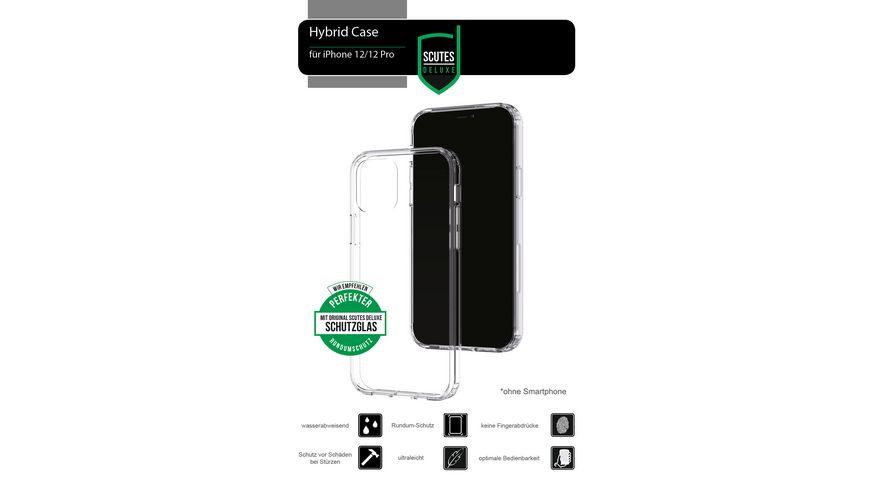 Hybrid-Schutzhülle transparent (iPhone 12 Pro)