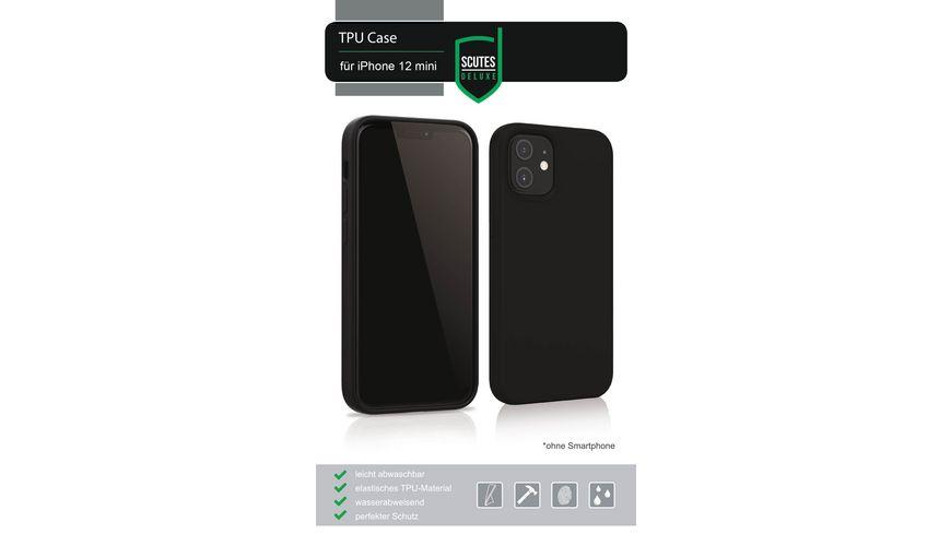 TPU-Schutzhülle matt schwarz (iPhone 12)