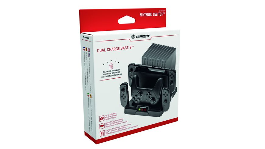 snakebyte NSW Dual Charge Base S