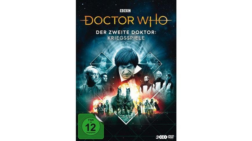 Doctor Who - Der Zweite Doktor: Kriegsspiele  [3 DVDs]