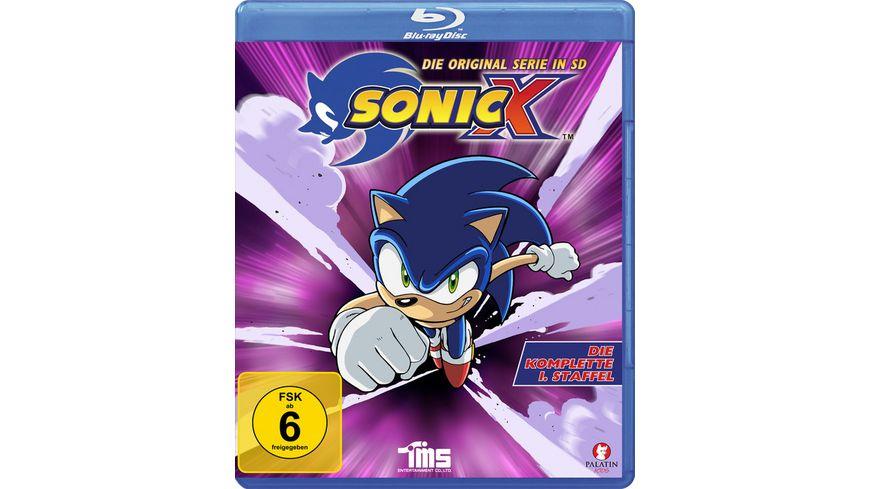 Sonic X - Die komplette 1. Staffel - Alle 52 Episoden - Die Original Serie in SD