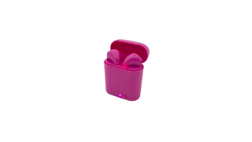 True Wireless Ohrhörer Müller pink