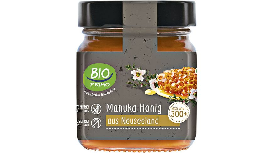 BIO PRIMO Manuka Honig 300+ aus Neuseeland