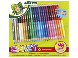 JOLLY Doppel Bunstifte CRAZY 24x2 Farben