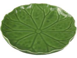 Asia Keramik Blatt Lotus 13 5cm