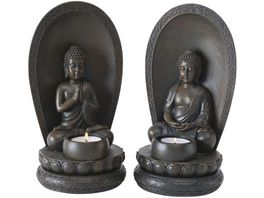 Boltze Teelichthalter Buddha