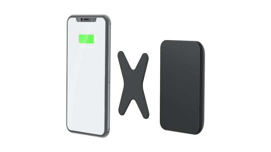 XLayer MagFix Powerbank Wireless Black 5 000mAh