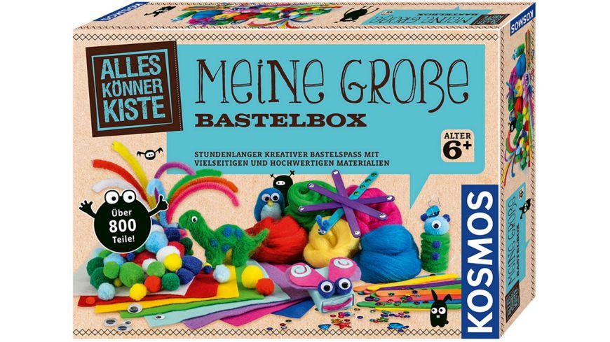 KOSMOS - Meine große Bastelbox - Stundenlanger kreativer Bastelspaß