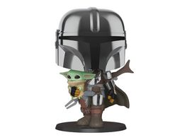 Funko POP Star Wars The Mandalorian The Mandalorian the Child 10