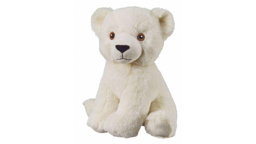 Bauer - Eco-Line- I LIKE MY PLANET - Eisbär sitzend 20cm