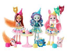 Mattel Enchantimals GJX22 Geburtstagszauber Spielset