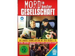Mord in bester Gesellschaft Alle Folgen der Serie in dieser Sammeledition 15 DVDs