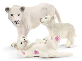 Schleich 42505 Wild Life Loewenmutter mit Babys