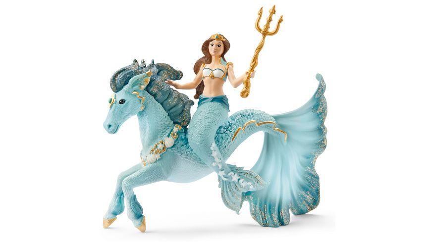 Schleich 70594 bayala Meerjungfrau Eyela auf Unterwasserpferd