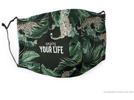 Geschenk fuer Dich Gute Laune Maske Enjoy your life