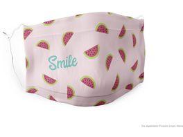 Geschenk fuer Dich Gute Laune Maske Smile