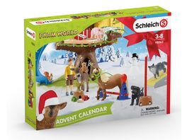 Schleich 98063 Farm World Adventskalender