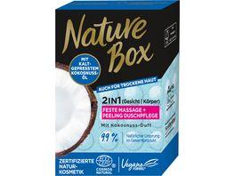 NATURE BOX Exotische Feste Duschpflege mit Kokosnuss Duft