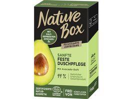 NATURE BOX Sanfte Feste Duschpflege mit Avocado Duft