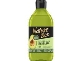 NATURE BOX Pflegendes Duschgel mit Avocado Duft