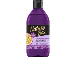 NATURE BOX Erfrischendes Duschgel mit Passionsfrucht Duft