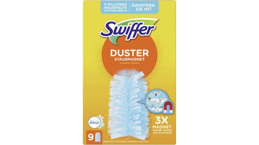 Swiffer Staubmagnet Tuecher Nachfuellpackung mit Febreze Duft 9 St