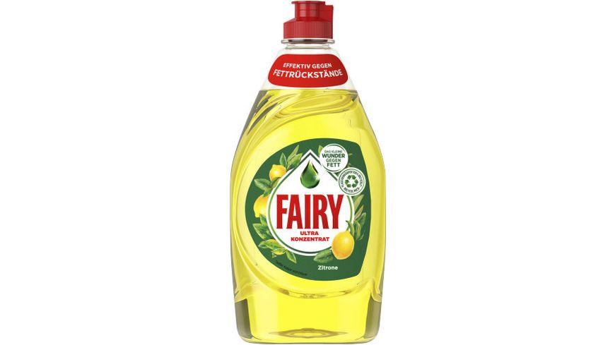 Fairy Spülmittel Zitrone Ultra Konzentrat