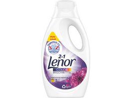 Lenor Waschmittel Fluessig Amethyst Bluetentraum Colorwaschmittel 21 Waschladungen