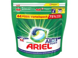Ariel All in 1 Pods Universal 44 Waschladungen