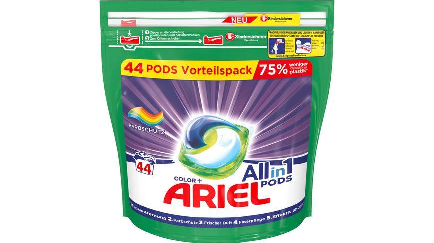 Ariel All in 1 Pods Color Farbschutz 44Waschladungen