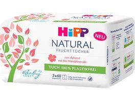 HiPP Babysanft Feuchttuecher Natural duftend 2x60