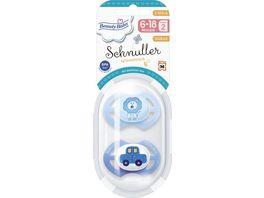 Beauty Baby Schnuller Symmetrisch Silikon Groesse 2 6 18 Monate