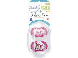 Beauty Baby Schnuller Kiefergerecht Latex Groesse 3 ab 18 Monate