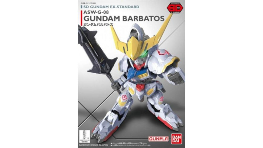 Bandai SD GUNDAM BARBATOS EX STANDARD 010