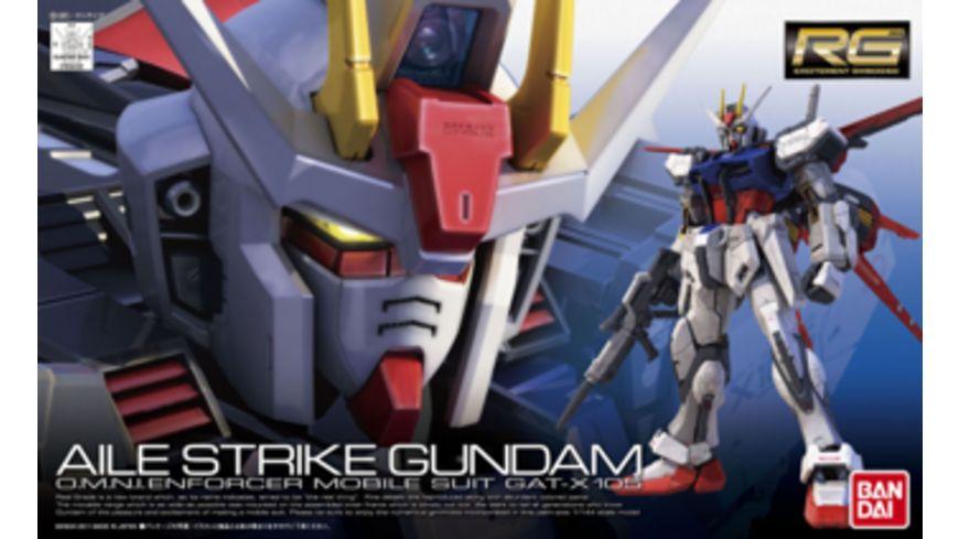 Bandai 1 144 RG GAT X105 Aile Strike Gundam
