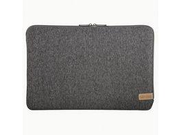 Hama Notebook Sleeve Jersey bis 36 cm 14 1 Dunkelgrau