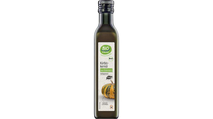 BIO PRIMO Kürbiskernöl aus Österreich kaltgepresst